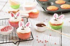 Wielkanocne babeczki króliczki