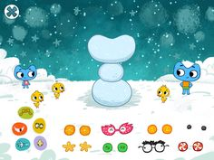 Kit N Kate Build a Snowman in New Preschool App Easy Games For Kids, Kid Games, Learning Apps, Build A Snowman, Pre School, Live Action, Toddlers, Snoopy, Articles