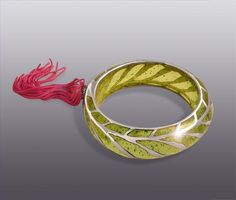 Happines of the wind Bangle