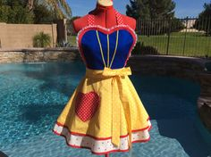 Hey, I found this really awesome Etsy listing at https://www.etsy.com/listing/17713618/snow-white-inspired-sassy-apron-with