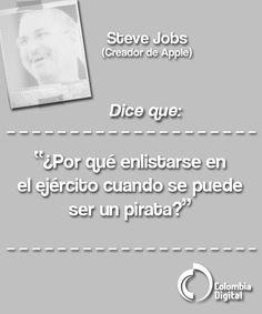 Steve Jobs protagoniza nuestra frase del día.