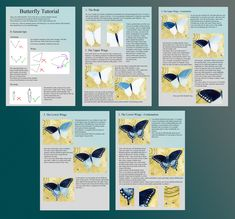 Butterfly Tutorial by Siluan.deviantart.com on @deviantART