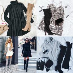 Čižmy, čižmy nad koleno, vysoké čižmy, béžové čižmy ,čierne čižmy, sivé čižmy, čižmy na opätku, kabelka, šaty, okuliare, rolák, magazín, outfit Sequin Skirt, Tommy Hilfiger, Sequins, Ruffle Blouse, Platform, Skirts, Outfits, Tops, Women