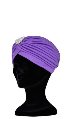 Fortune Teller Turbante Sombrero Con Negro Joya Gypsy Elegante Asimétrico Accesorio