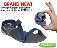 Okay, think Chaco or Teva or Keen... but then get rid of up to 70% of the weight and all of the bulk! Perfect for travel. Over 70,000 people wear Xero Shoes for everything from a walk on the beach to a hike in the woods to running a 256k ultramarathon across Madagascar!  Check them out! http://xeroshoes.com