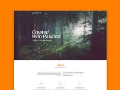 """Check out this @Behance project: """"Ephic Creative Template"""" https://www.behance.net/gallery/41436863/Ephic-Creative-Template"""