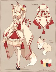 [CLOSED] ADOPTABLE | Sacred Fox by ocono