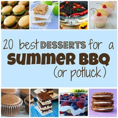 20 Best Desserts For a Summer BBQ or Potluck