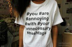 shirt hashtags