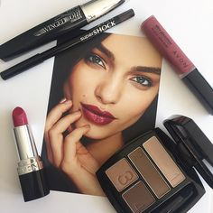 Neutral eyes paired with a berry lip is perfect for any occasion #AvonMakeup
