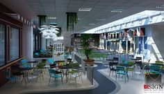 Autoservire 1 – proiect in stil modern - Studio inSIGN Modern, Restaurants, Interior, Outdoor Decor, Projects, Design, Home Decor, Indoor, Log Projects