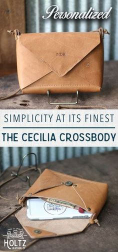 The Cecilia Fine Leather Envelope Purse How To Make Handbags, Purses And Handbags, Leather Purses, Leather Wallet, Leather Bags, Leather Totes, Leather Backpacks, Holtz Leather, Crea Cuir