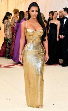 Kim Kardashian West at Met Ball