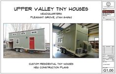 Tiny House Plans Easy to Read and More Affordable Than Other Tiny House Plans