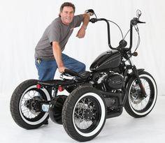 Custom Sportster Nighster Trike at Cyril Huze Post – Custom Motorcycle News