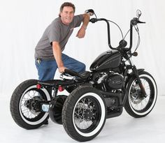 Custom Sportster Nighster Trike at Cyril Huze Post – Custom Motorcycle News