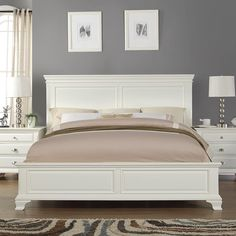 Discover the best coastal bedroom furniture sets, which includes matching coastal beds, beach dressers, coastal headboards, beach nightstands, and more. 5 Piece Bedroom Set, Bedroom Sets, Bedroom Decor, White Bedroom Set, Kids Bedroom, Pretty Bedroom, Queen Bedroom, Bedroom Chair, Bed Room