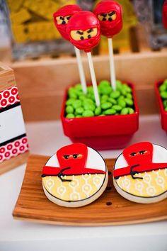Kara's Party Ideas Ninjago -Ninja Lego- 7th Birthday Party {Planning, Ideas, Decor}