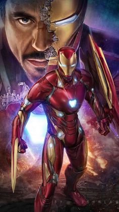 Iron Man is a fictional superhero appearing in American comic books published by Marvel Comics. Marvel Comics, Marvel Art, Marvel Heroes, Captain Marvel, Iron Man Avengers, The Avengers, Iron Man Kunst, Iron Man Art, Iron Man Logo