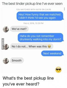 Funny jokes pick up line for dating apps