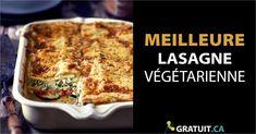 Un repas végétarien par semaine fait une grande différence au bout d'une année. C'est bon pour la santé et pour l'environnement! Macaron, C'est Bon, Quiche, Breakfast, Food, Chicken Garden, Vegetarian Lasagne, Vegetables Garden, Vegetarian Meal