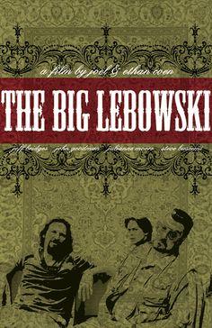 The Big Lebowski Film Poster