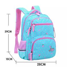 2019 New orthopaedics schoolbags waterproof school backpacks for teena – Winbuyara Cute Backpacks For School, Girl Backpacks, Waterproof School Backpack, Backpack Pattern, School Bags For Girls, Backpack Brands, Bag Patterns To Sew, Patchwork Bags, How To Make Shoes