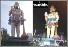Tallest sculpture of Lord Veera Anjaneya is situated at Sri Veera Anjaneya Temple on Road Number 2, KPHB (Kukatpally Housing Board Colony) Phase I, Kukatpally area of Hyderabad city in the Indian state of Telangana. Kukatpally is a major residential and commercial suburb in Medchal district of Telangana state. It is located on the northwest fringe of Hyderabad city. Kukatpally Housing Board Colony developed by Andhra Pradesh Housing Board is considered to be the biggest colony in India and…