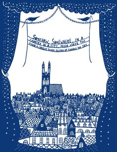 "Rob Ryan paper cut- houses that the children live in in Hull with Hospital on skyline- words to explain how children feel about ""their hospital"" a picture about ownership. Rob Ryan, Newspaper Art, Stencils, Paper Artwork, Kirigami, Paper Design, Paper Cutting, Illustrators, Book Art"