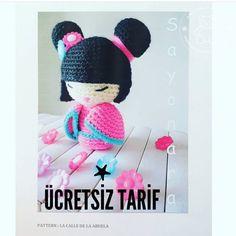 Crochet Doll Toys Free Patterns: Crochet Dolls, Crochet Toys for Girls, Amigurumi Dolls Free Patterns, Crochet Doll Carrier Kawaii Crochet, Crochet Dolls, Crochet Hats, Doll Carrier, Kokeshi Dolls, Amigurumi Toys, Toys For Girls, Doll Toys, Free Pattern