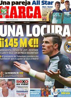 Una locura   La portada del 30 de julio de 2013
