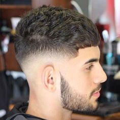 Mid Bald Fade with Short Textured Crop - Best Men's Hairstyles: Cool Haircuts For Guys Modern Mens Haircuts, Haircuts For Men, 2018 Haircuts, Barber Haircuts, Hair And Beard Styles, Curly Hair Styles, Low Skin Fade, Low Fade, Low Bald Fade