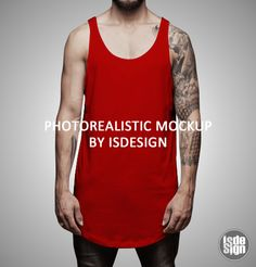 Mockup 002 Mockup, Tank Man, Mens Tops, Fashion, Moda, Fashion Styles, Fasion, Scale Model