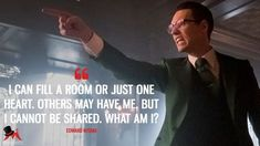Discover and share the most famous quotes from the TV show Gotham. Gotham Quotes, Riddler Riddles, Batman City, Batman Comic Art, Gotham City, Batman Robin, Riddler Gotham, Gotham Academy, Trier