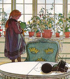 carl larsson      One of the first pictures I saw and loved.   ld