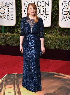 Bryce Dallas Howard buys her own dress from Neiman - What's buzzing at the 2016 Golden Globe Awards