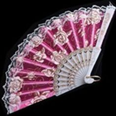 Feminine Chinese Culture Design Hand Folding Fan with Peony Pattern & Lace for Woman Girl Female - Pink Antique Fans, Vintage Fans, Pretty Hands, Beautiful Hands, Hand Held Fan, Hand Fans, Whatsoever Things Are Lovely, Dream Tea, Chinese Fans