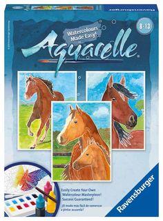 Horses (Aquarelle Midi) Horses
