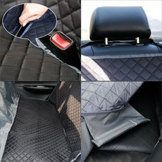 Heavy Duty Durable Water Resistant Single Seat Cover Grey tech automotive A3 Saloon 13-ON S