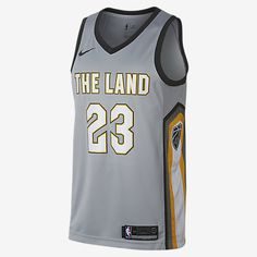 LeBron James City Edition Swingman Jersey (Cleveland Cavaliers) Men's Nike NBA Jersey