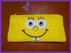 Crochet Wallet, Crochet Coin Purse, Crochet Pouch, Crochet Collar, Crochet Purses, Crochet Girls, Cute Crochet, Crochet Crafts, Crochet Toys