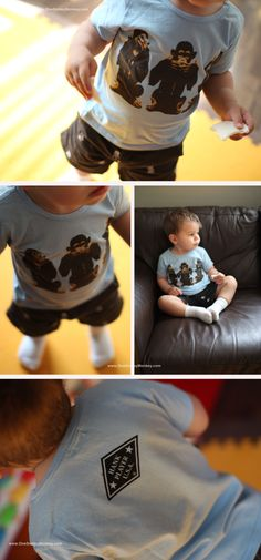Vintage Tees for Baby!