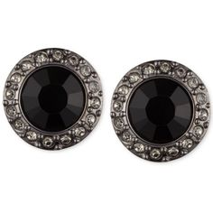 Givenchy Silver-Tone & Blue-Stone Crystal Pave Accented Stud Earrings (640 MXN) ❤ liked on Polyvore featuring jewelry, earrings, mgy, crystal earrings, pave earrings, stone jewelry, silver tone earrings and blue stone jewelry