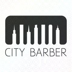 City Barber logo by Logomount
