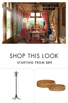 """Sem título #1337"" by cmb51 ❤ liked on Polyvore featuring interior, interiors, interior design, home, home decor, interior decorating, Trilogy, Nate Berkus, Selamat and cabinstyle"