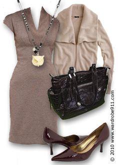 Love this dress - courtesy Wardrobe 911
