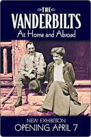 April 7 - Dec 31   The Vanderbilts at Home and Abroad -  A new display focusing on the lives and personalities of George, Edith and Cornelia Vanderbilt, takes center stage in Biltmore's Antler Hill Village Legacy building.