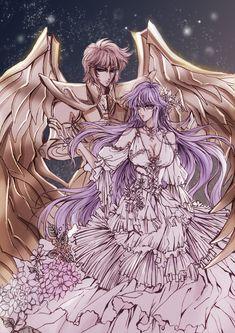 Sagitario-Sísifo y Athena-Sasha