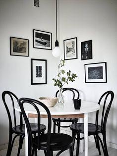Beautiful Scandinavian Dining Room Design Ideas Home Ideas Decor Interior Design, Room Interior, Interior Decorating, Decorating Ideas, Dining Room Inspiration, Dining Room Lighting, Small Dining, Round Dining, Dining Room Design