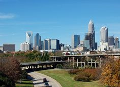 Charlotte, North Carolina- used to go there on way back from Florida with Marcia